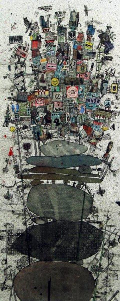 'Ricochets #1' by Zena Assi